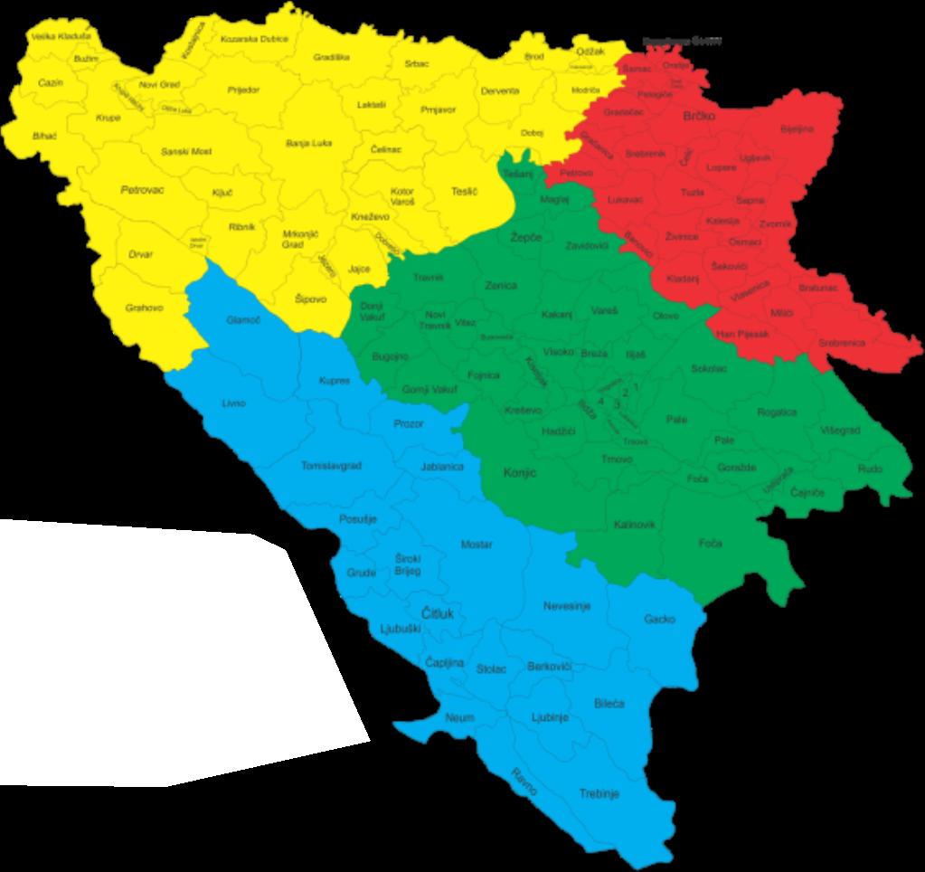 Mapa distribucije